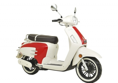 Turbho Bellissimo 125 / White-Red